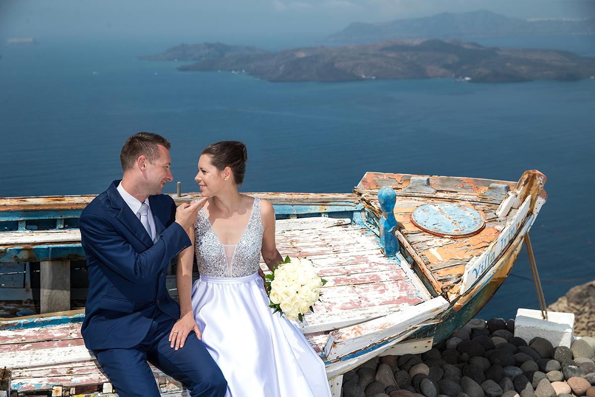 Santorini small weddings photography
