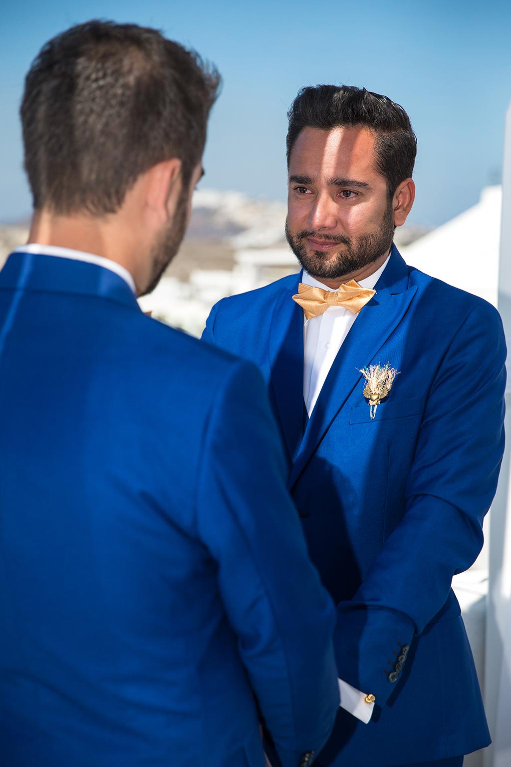 santorini same sex wedding