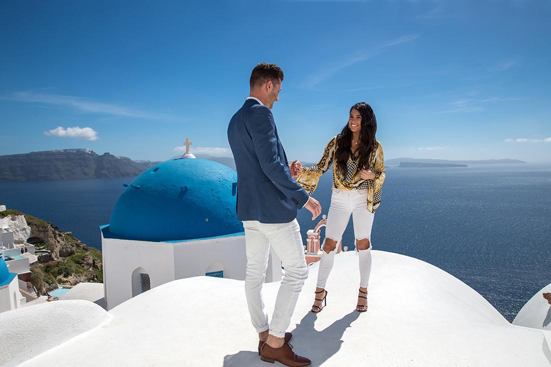 Santorini wedding Photography